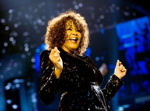 Whitney Houston at 02 Arena