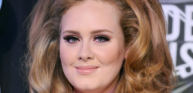 Adele arrives at a Award ceremony