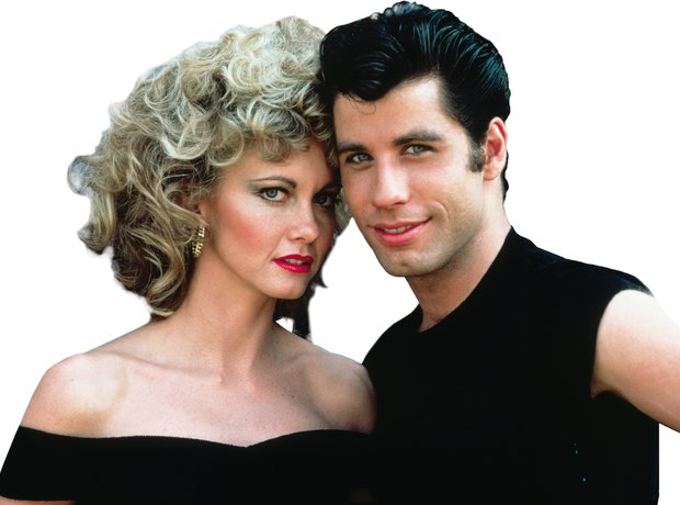 Grease Danny and Sandy