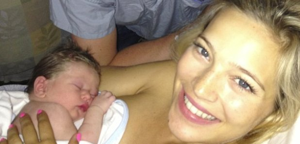 Michael Buble and Luisana Lopilato and baby boy Noah