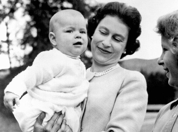 Queen Elizabeth & Prince Andrew