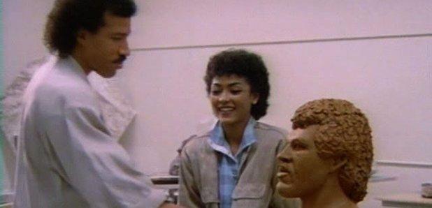 Lionel Richie Hello Video Still