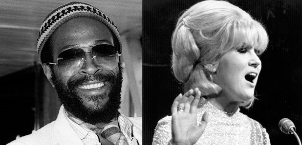 Marvin Gaye and Dusty Springfield