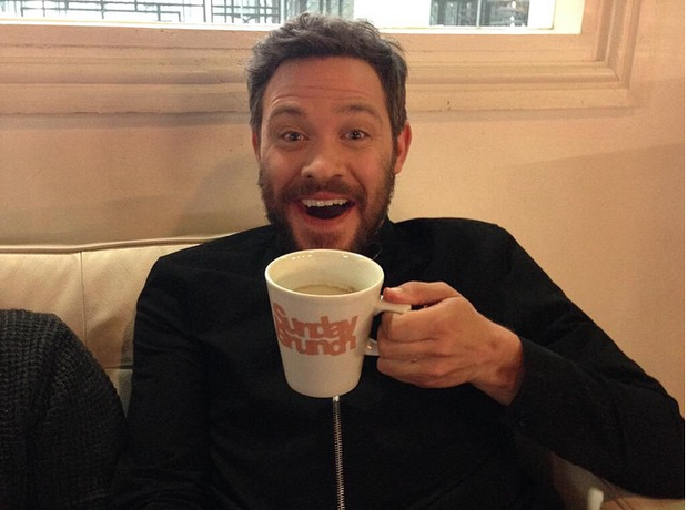 Will Young Drinking Tea