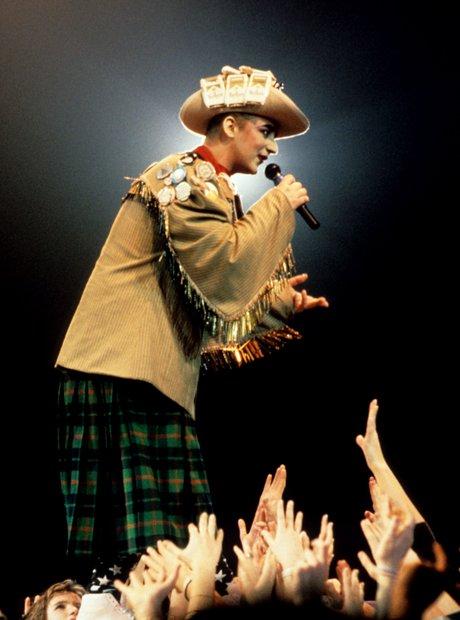 Boy George on Stage