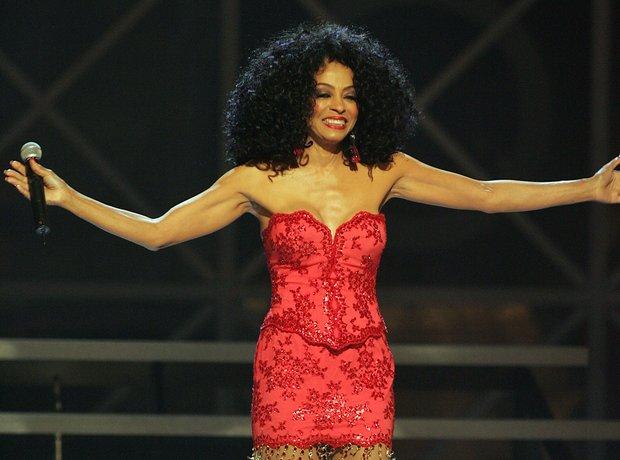 Diana Ross Red Dress