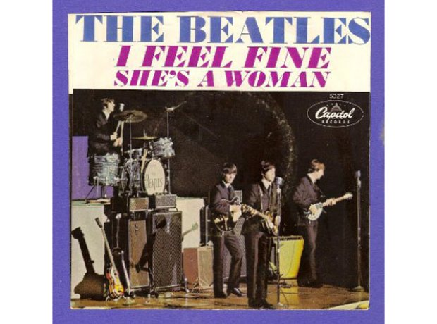 Beatles I Feel Fine Single Cover
