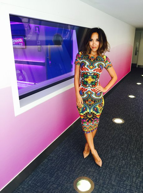 Myleene Klass at Smooth Radio