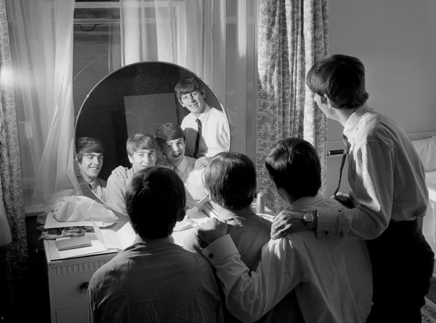 The Beatles Looking Through You Exclusive Rare Pho