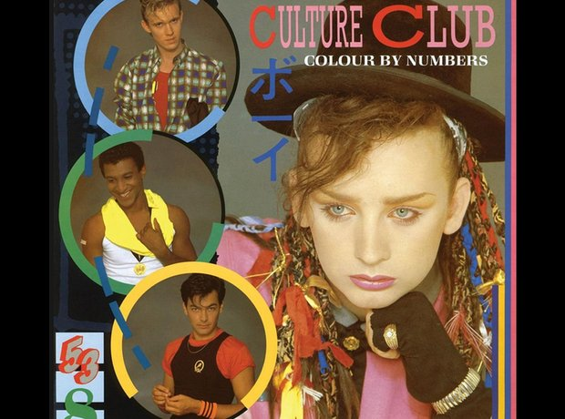 Culture Club 80s album covers