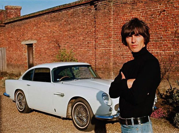 Rock Stars Cars George Harrison