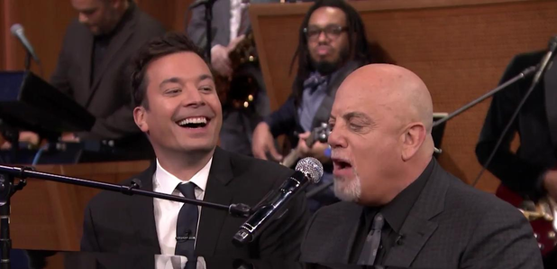 jimmy fallon billy joel sing together
