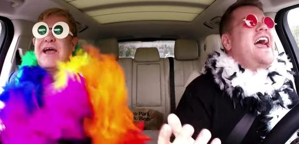 Elton John Carpool Karaoke FULL