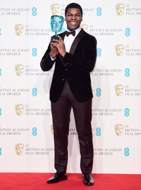 John Boyega at the Bafta Awards 2016