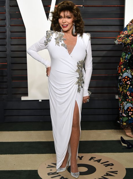 Joan Collins Vanity Fair Oscars