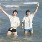 The Beatles in the sea