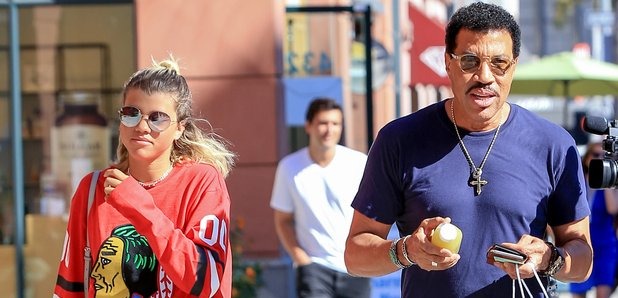 Lionel Richie and his daughter Sofia Richie