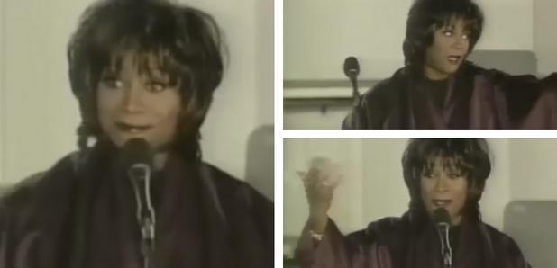 Patti LaBelle awkward performance