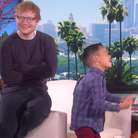 Ed Sheeran on Ellen
