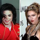 Michael Jackson and Madonna